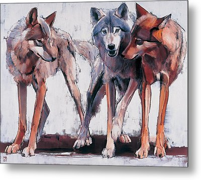 Pack Leaders Metal Print