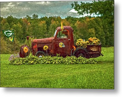 Packers Plow Metal Print by Trey Foerster