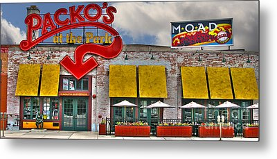 Packo's At The Park Metal Print