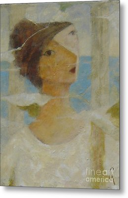 Metal Print featuring the painting Padrona by Glenn Quist