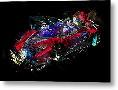 Pagani Metal Print by Mark Ashkenazi