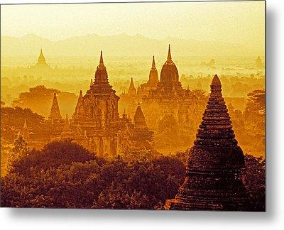 Pagodas Metal Print by Dennis Cox WorldViews