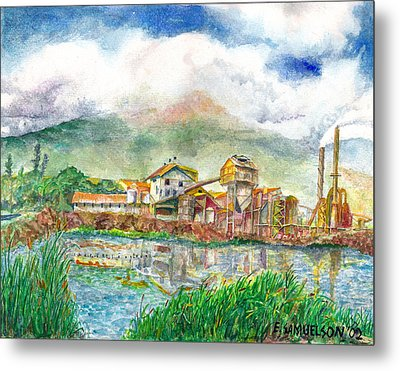 Paia Mill 1 Metal Print by Eric Samuelson