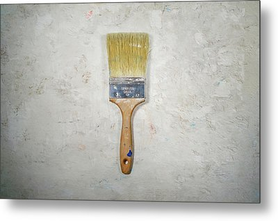 Paint Brush Metal Print