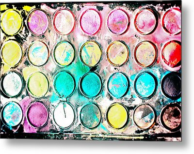 Paint Colors Metal Print