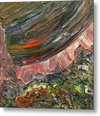 Paint Number 10 Metal Print by James W Johnson