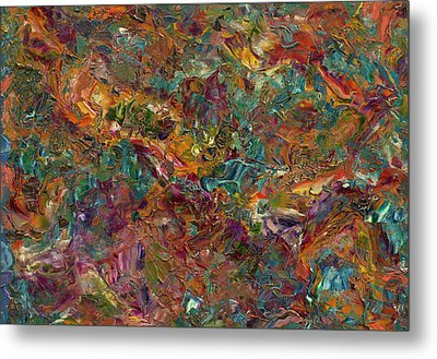 Paint Number 16 Metal Print by James W Johnson