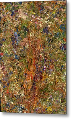Paint Number 25 Metal Print by James W Johnson