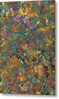 Paint Number 29 Metal Print by James W Johnson