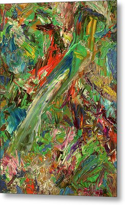 Paint Number 32 Metal Print by James W Johnson