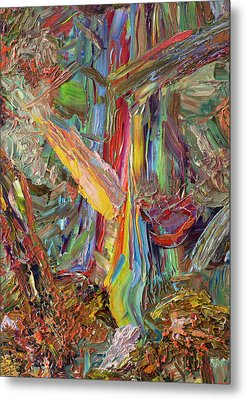 Paint Number 40 Metal Print by James W Johnson