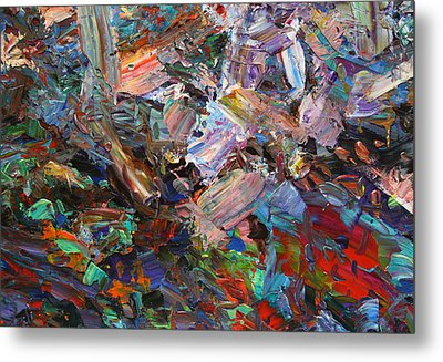 Paint Number 42-c Metal Print by James W Johnson