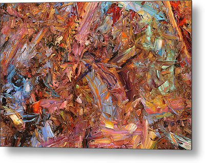 Paint Number 43b Metal Print by James W Johnson