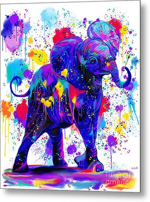 Paint With Me Metal Print by Nick Gustafson