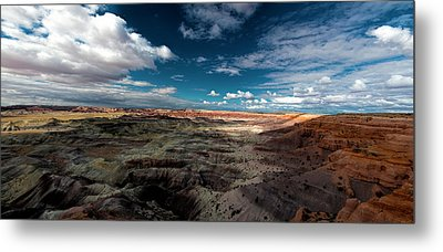 Painted Desert Metal Print