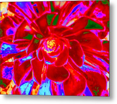 Carnival Colors Metal Print
