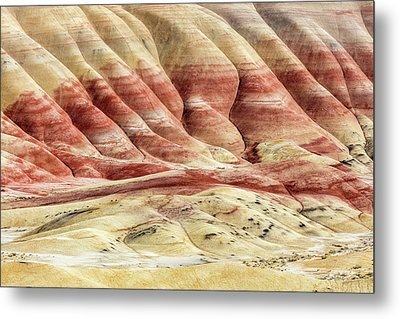 Metal Print featuring the photograph Painted Hills Landscape by Pierre Leclerc Photography