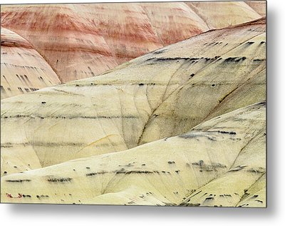 Metal Print featuring the photograph Painted Hills Ridge by Greg Nyquist
