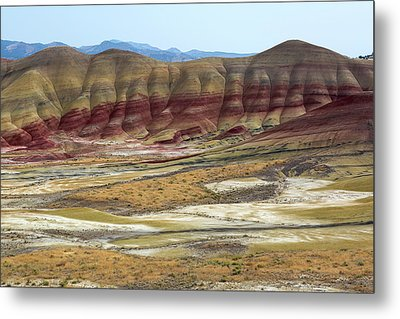 Painted Hills View From Overlook Metal Print