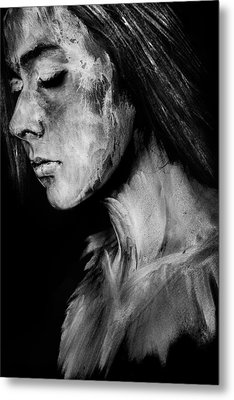 Painted II Metal Print by Cambion Art