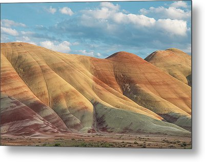Metal Print featuring the photograph Painted Ridge And Sky by Greg Nyquist
