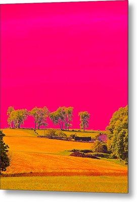 Painter Ridge Metal Print by Gillis Cone