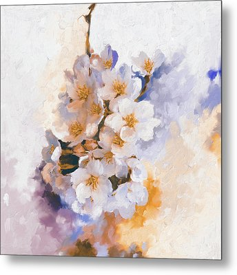 Painting 377 3 Cherry Blossoms Metal Print