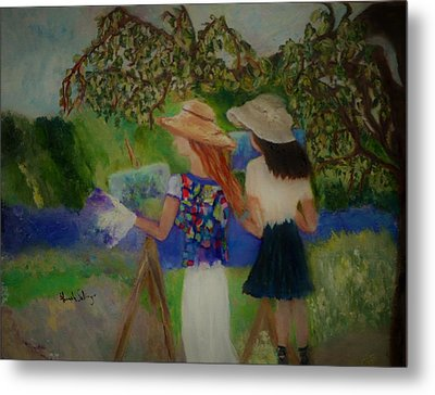 Painting In France Metal Print