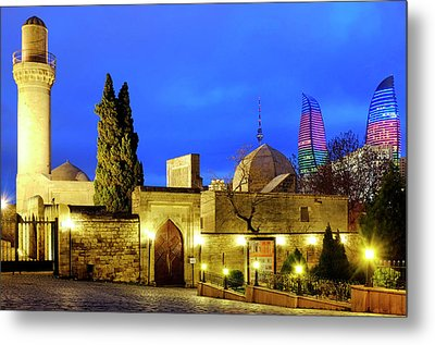 Metal Print featuring the photograph Palace Of The Shirvanshahs by Fabrizio Troiani