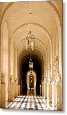 Palace Of Versailles Metal Print