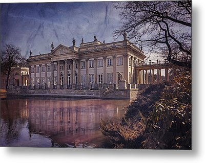 Palace On The Water  Warsaw Metal Print