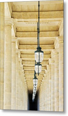 Palais-royal Arcade - Paris, France Metal Print by Melanie Alexandra Price