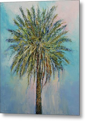 Palm Metal Print by Michael Creese