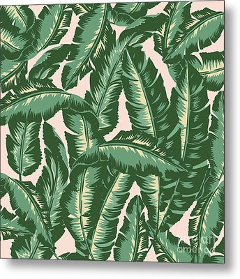 Palm Print Metal Print by Lauren Amelia Hughes