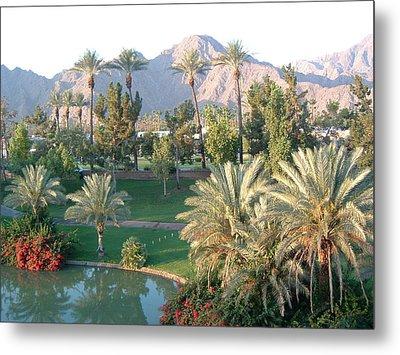 Palm Springs Ca Metal Print by Cheryl Ehlers
