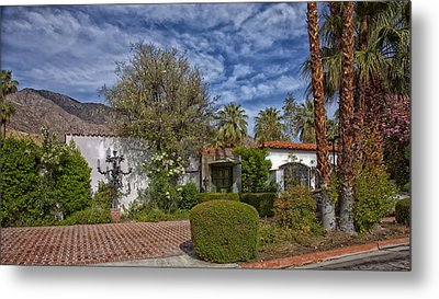 Palm Springs Home Of Liberace Metal Print by Mountain Dreams