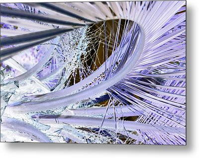 Palm Wave Metal Print