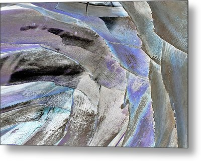 Layered Colors Metal Print