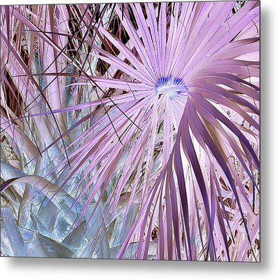 Blue Light Special Metal Print