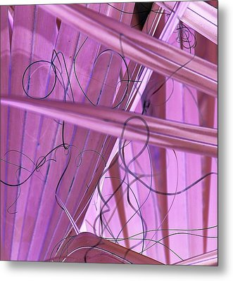 Lines, Curves And Highlights Metal Print