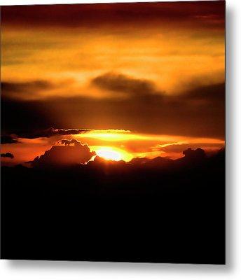 Palouse Sunset Metal Print by David Patterson