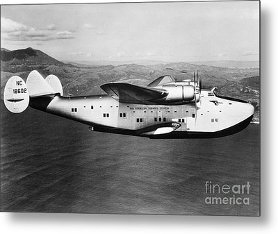 Pan American Clipper Metal Print by H. Armstrong Roberts/ClassicStock