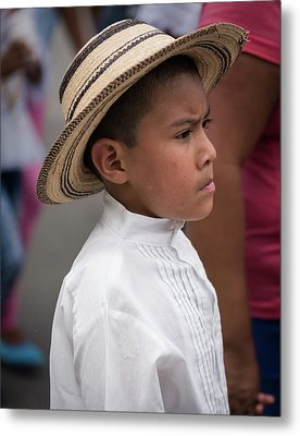Panamanian Boy Metal Print