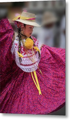 Panamanian Dancer 1 Metal Print