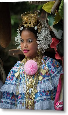Panamanian Queen Of The Parade Metal Print