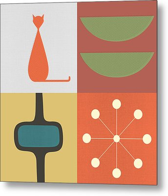 Panels - 1 Metal Print by Finlay McNevin