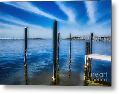 Metal Print featuring the photograph Panhandle Poles # 3 by Mel Steinhauer