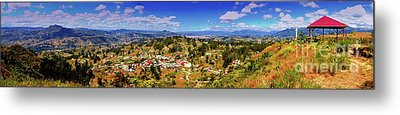 Panorama From Pachamama To Cuenca Metal Print