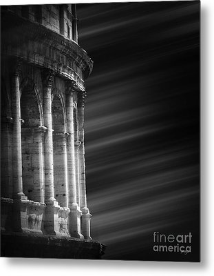 Panorama Of Roma Metal Print by Stefano Senise