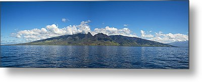 Panoramic West Maui Metal Print by Dave Fleetham - Printscapes